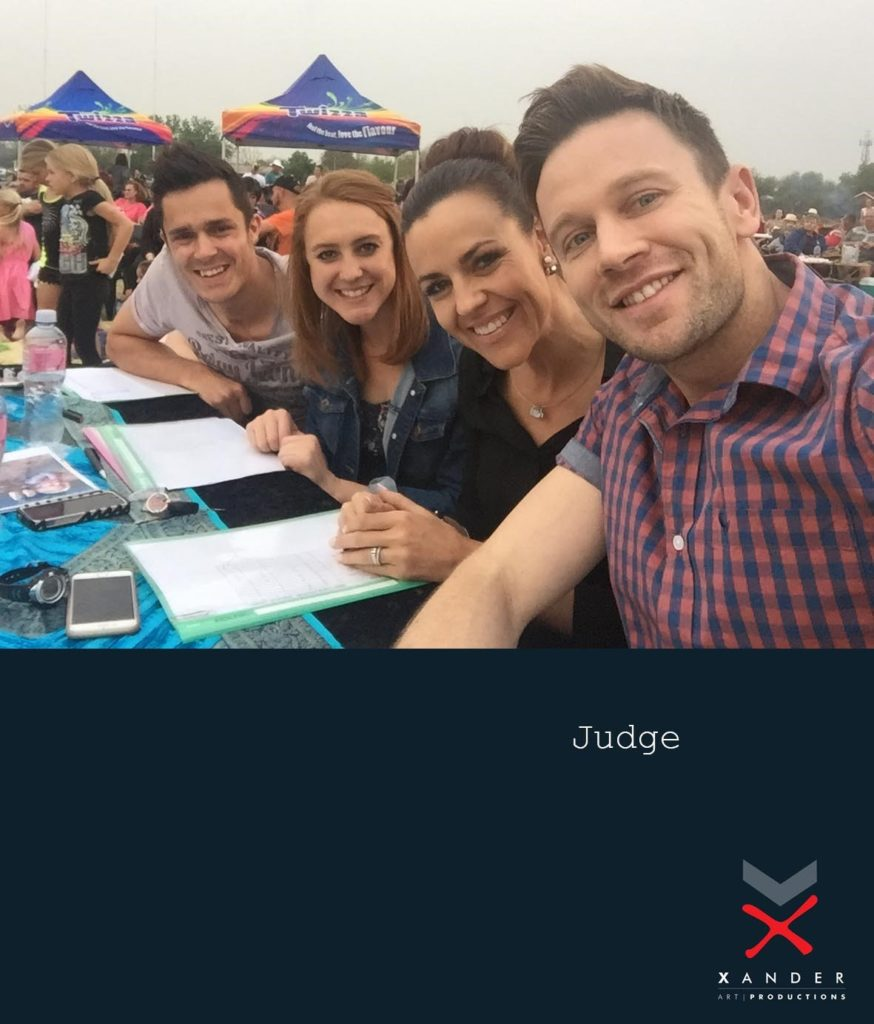 Xander Steyn - Talent Scout and Judge