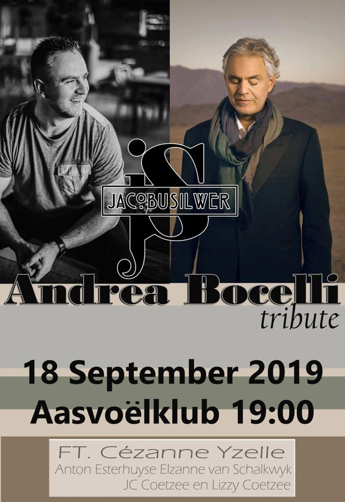 Jacobus Silwer - Andrea Bocelli Tribute