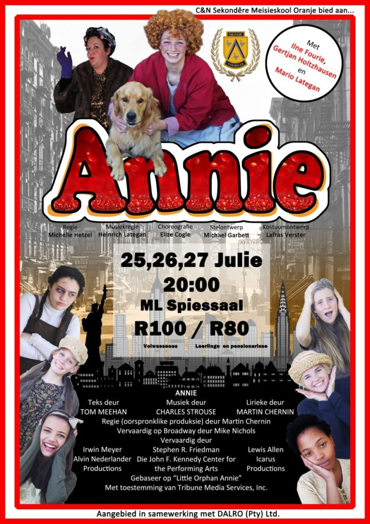 Annie Musical by Phoenix Production