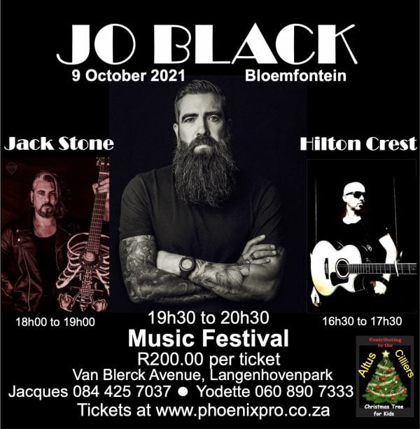 JO BLACK Concert